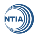 Logo: National Telecommunications and Information Administration