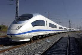 The Siemens Velero high-speed train