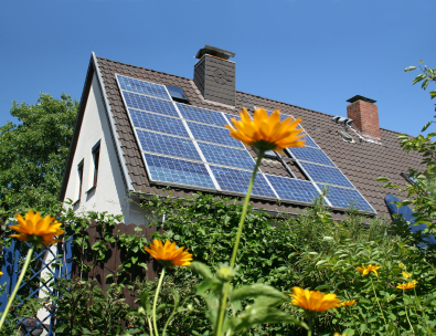 File:IStock solar panels on house.jpg