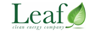 Logo: Leaf Clean Energy Company