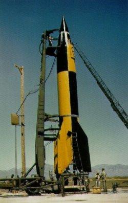 The German V2 rocket