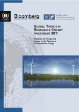UNEP-Global Trends in Renewable Energy Investment 2011 Screenshot
