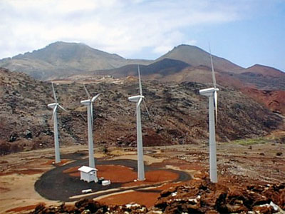 Ascension Island Wind