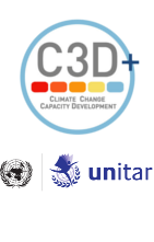 Logo: Climate Change Capacity Development (C3D+)