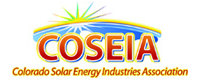 Logo: Colorado Solar Energy Industries Association