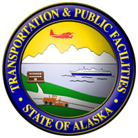 Logo: Alaska Department of Transportation and Public Facilities