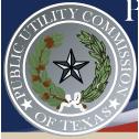 Logo: Public Utility Commission of Texas