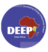 Logo: Kenya-Developing Energy Enterprises Project (DEEP)