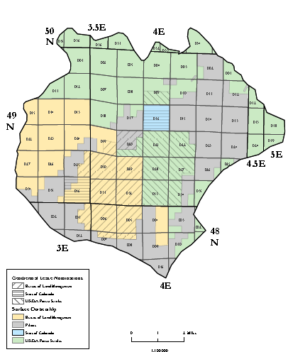 File:Surface ownership and lease nominations of Waunita Hot Springs area.PNG