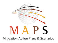 Logo: Argentina-Mitigation Action Plans and Scenarios (MAPS)