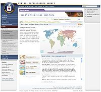 CIA-The World Factbook Screenshot
