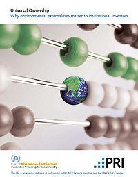 Universal Ownership: Why Environmental Externalities Matter to Institutional Investors Screenshot