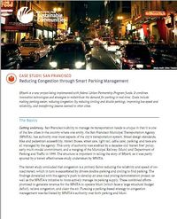 ISC-Reducing Congestion through Smart Parking Management Screenshot