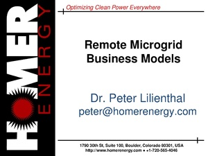 Peter Lilienthal - Remote Microgrid Business Models.pdf