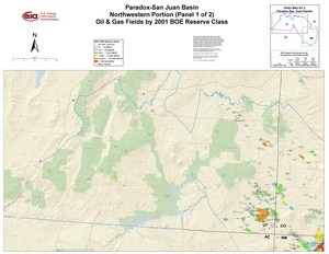 Paradox-San Juan Basin, Northwest Part By 2001 BOE Reserve Class
