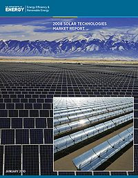 NREL-Solar Technologies Market Report Screenshot