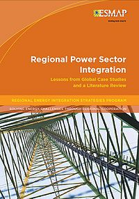 Regional Power Sector Integration: Lessons from Global Case Studies and a Literature Review Screenshot