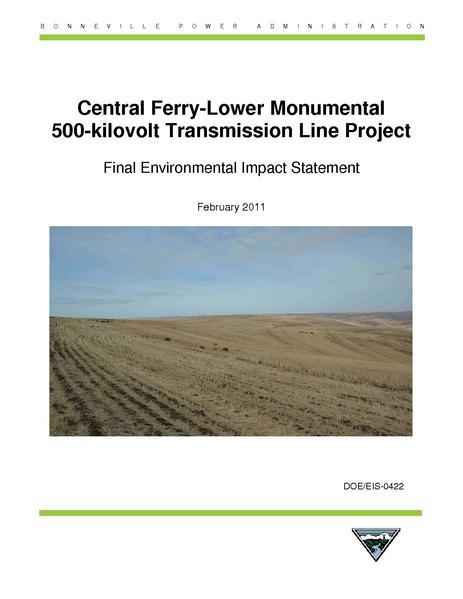 File:CentralFerry-LowerMonumental FEIS.pdf