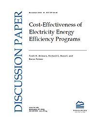 Cost Effectiveness of Electricity Energy Efficiency Programs Screenshot