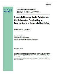 Industrial Energy Audit Guidebook: Guidelines for Conducting an Energy Audit in Industrial Facilities Screenshot