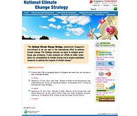 Singapore National Climate Change Strategy Screenshot