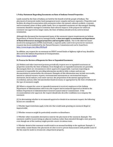 File:IDOA Easement Policy Statement.pdf