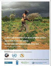 Climate Information for Development Needs: An Action Plan for Africa Screenshot