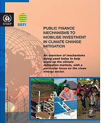Public Finance Mechanisms to Mobilize Investment in Climate Change Mitigation Screenshot