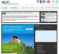 UNDP-Adaptation Learning Mechanism Screenshot