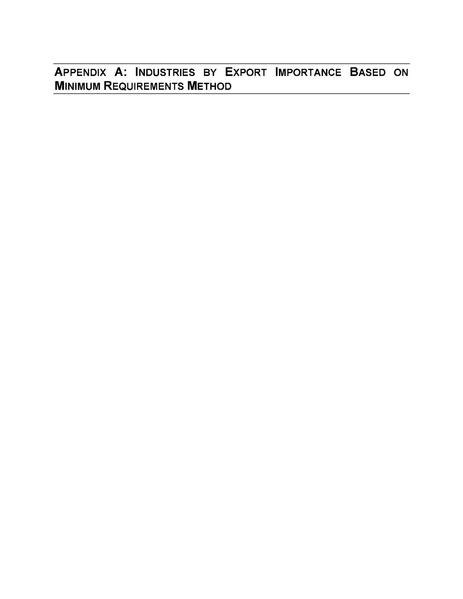 File:Barren Ridge FEIS-Volume III Socio Appendix A Industries by Export Importance Based on Minimum Requirements.pdf