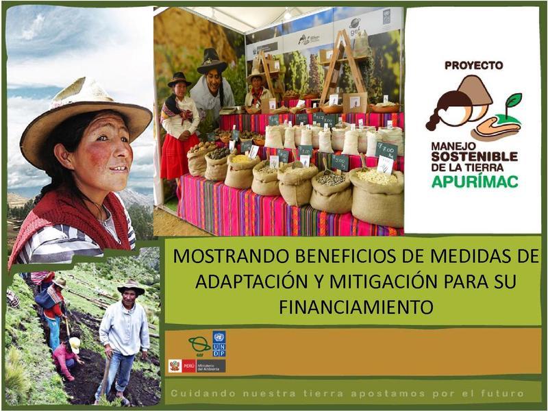 File:MOSTRANDO BENEFICIOS DE MEDIDAS DE ADAPTACIÓN Y MITIGACIÓN PARA SU FINANCIAMIENTO - Proyecto Apurimac.pdf