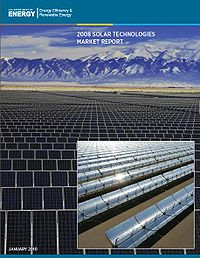 2008 Solar Technologies Market Report Screenshot