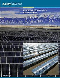2008 Solar Technologies Market Report Screenshot