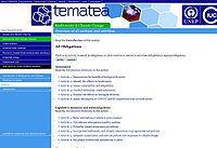 Tematea: Issue Based Modules for Coherent Implementation of Biodiversity Conventions Screenshot