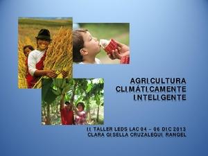 Agricultura Climáticamente inteligente - Clara Cruzalegui.pdf