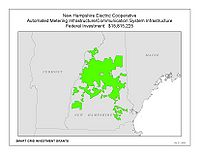 Coverage Map: New Hampshire Electric Cooperative Smart Grid Project