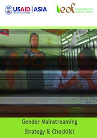 LEAF Gender Mainstreaming Strategy & Checklist Screenshot