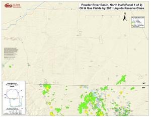 Powder River Basin, Northern Part By 2001 Liquids Reserve Class