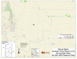 Denver Basin, South Part By 2001 BOE Reserve Class