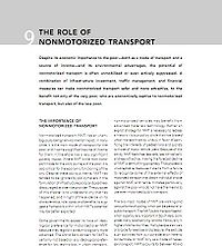 World Bank-Role of Nonmotorized Transport Screenshot