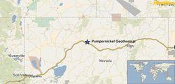Map: Pumpernickel Valley Geothermal Area