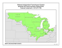 Coverage Map: Midwest Independent Transmission System Operator Smart Grid Project