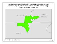 Coverage Map: Tri State Electric Membership Corporation Smart Grid Project