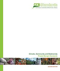 Climate Community and Biodiversity Project Design Standards Screenshot