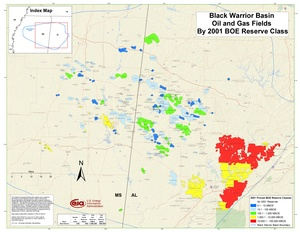 Black Warrior Basin By 2001 BOE Reserve Class