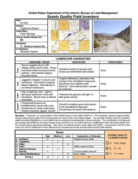 File:Devers Palo Verde No2-FEIS D3e Visual Resources Appendix 2 Scenic Quality Field Inventory Forms.pdf