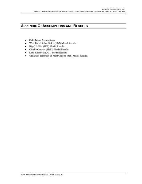 File:Barren Ridge FEIS-Volume IV ANF Water Appendix C Assumptions and Results.pdf