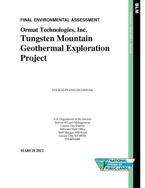 File:EA DOI-BLM-NV-C010-2012-0029-EA Tungsten Mtn.pdf