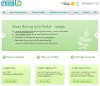reegle.info - clean energy information portal Screenshot