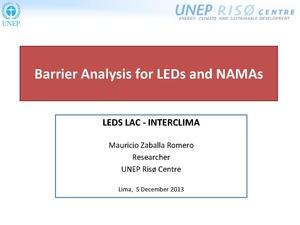 Mauricio Zaballa Romero - Barrier Analysis for LEDs and NAMAs.pdf